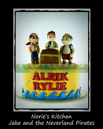 Norie's Kitchen - Jake and the Neverland Pirates Cake 2 by Norie's Kitchen