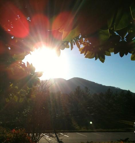 A North Georgia Mountain Sunburst by danielrpartain
