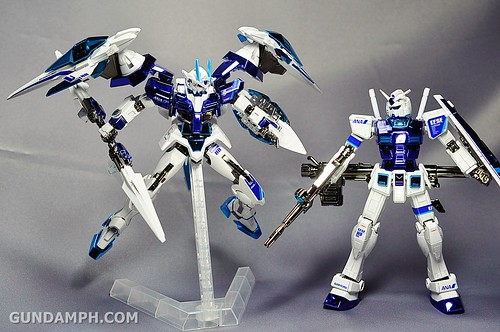 ANA 00 Raiser Gundam HG 1-144 G30th Limited Kit OOTB Unboxing Review (92)