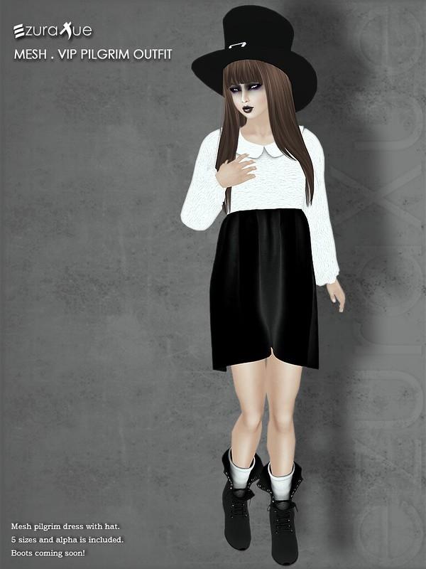 ezura + MESH . Pilgrim Outfit *VIP
