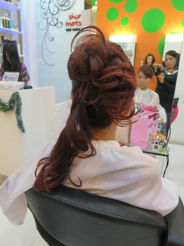 313 at Somerset, Caely Tham Shunji Matsuo, Eddie Yan Shunji Matsuo, Good hairsalons in Singapore, hair colour, hair dye, hair treatment, Red hair colour, Matrix Biolage, Curement Herbal treatment, nadnut, shunji matsuo, Shunji Matsuo @ 313, Shunji Matsuo Hair Salon at 313, singapore lifestyle blog