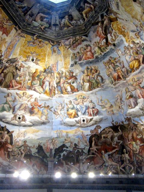 Duomo's fresco up close