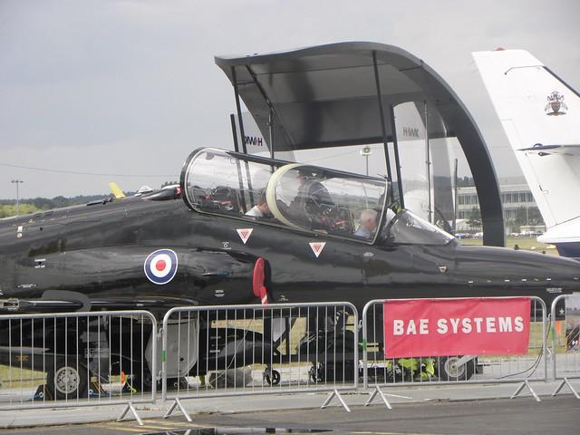 A BAE Hawk at the 2010 Farnborough Air Show