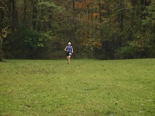 Melissa finishes