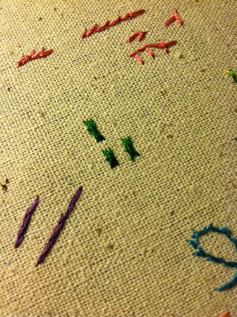 sheaf stitch