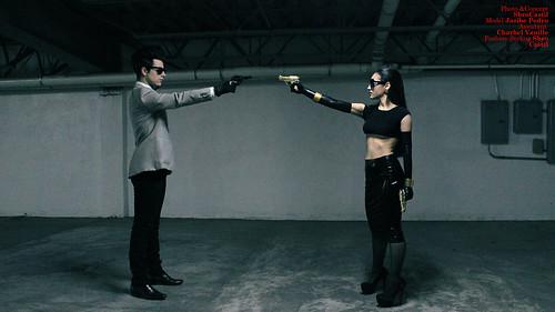 SBRO CASTIL: Girl Behind The Trigger
