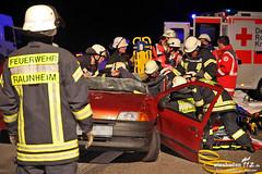 Schwerer Auffahrunfall A3 Wiesbadener Kreuz 10.10.12