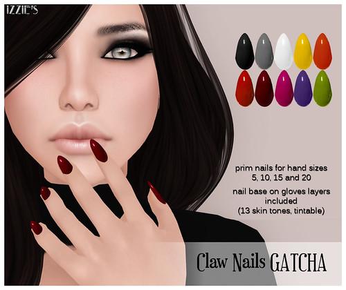 Claw nails Gatcha