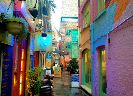 Neal's Yard, Covent Garden, Londra