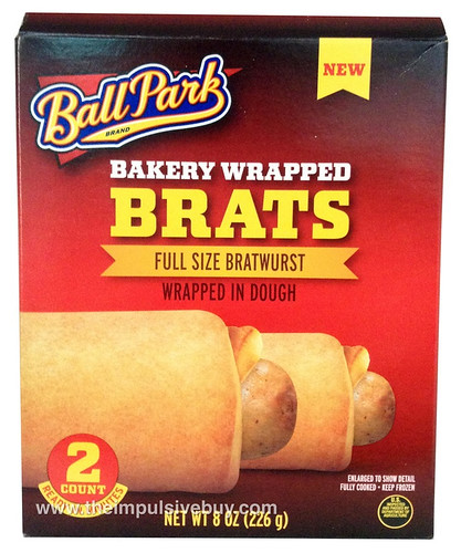 Ball Park Bakery Wrapped Brats