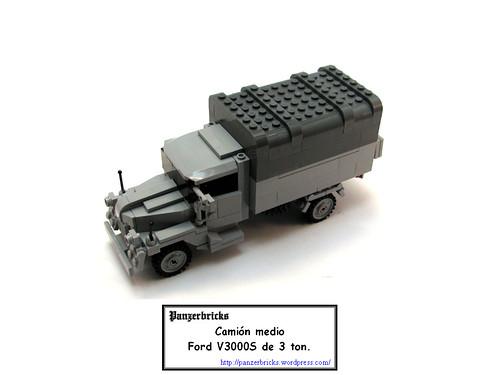 Lkw Ford 3t V3000s