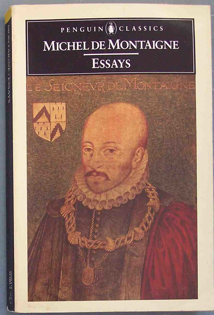 Book essays michel montaigne