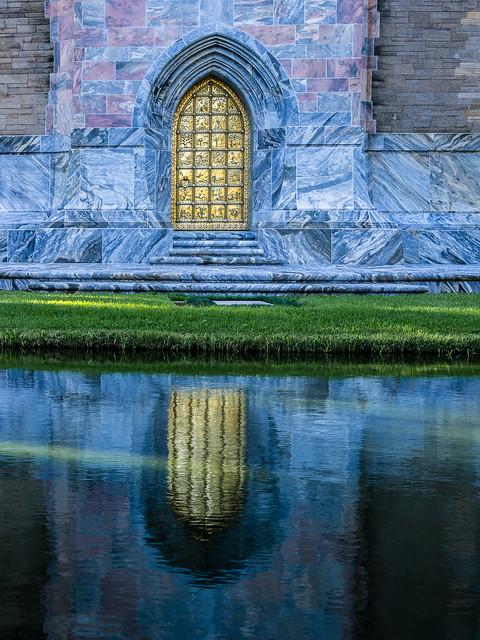 Door and reflection