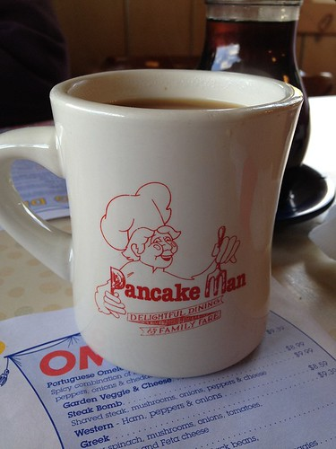 Pancake Man Coffee