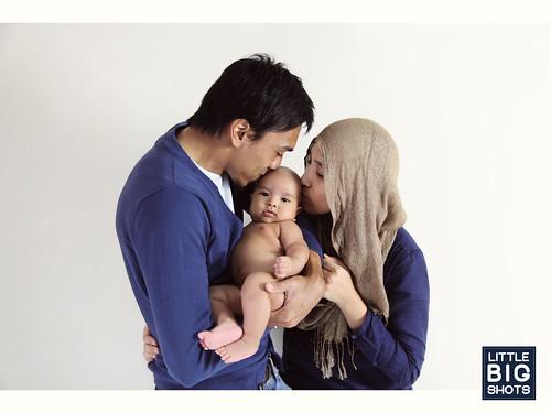 Loving Baby Aariq | Newborn Portraiture