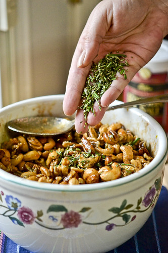 Chipotle & Rosemary Roasted Nuts 14