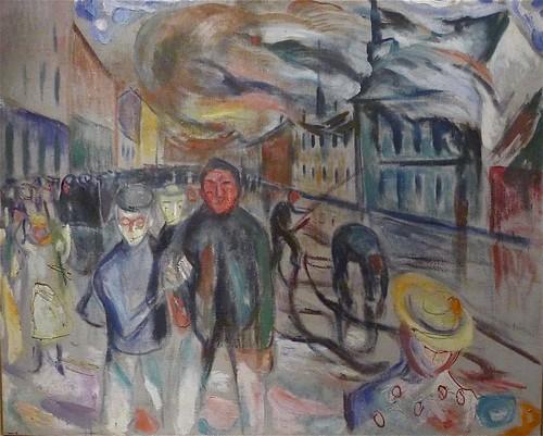 Munch: Brann på Grønland