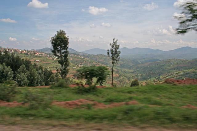 driving to Kigali