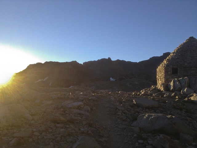 Sunrise on Muir Pass