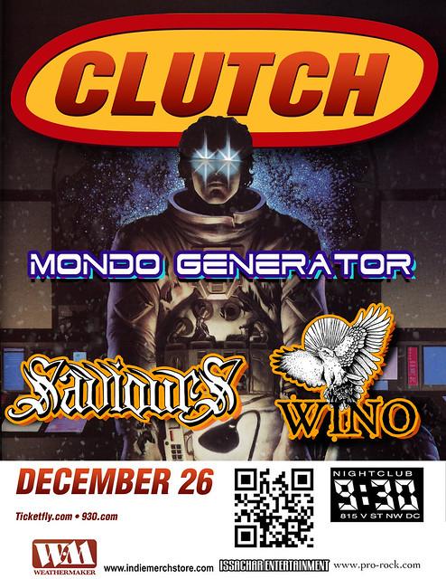 Clutch at the 9:30 Club
