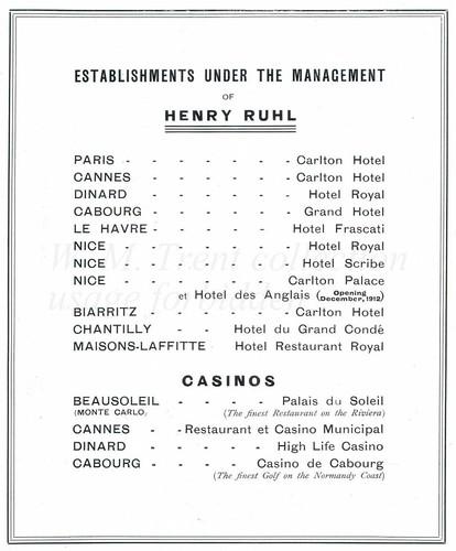 British advertisements - 1912.