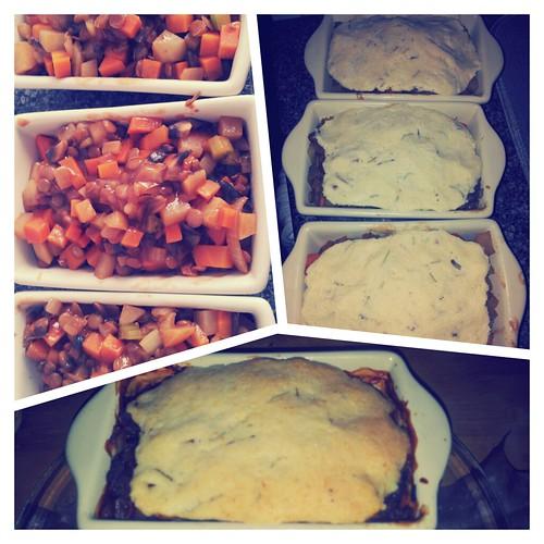 Lentil Pot Pies