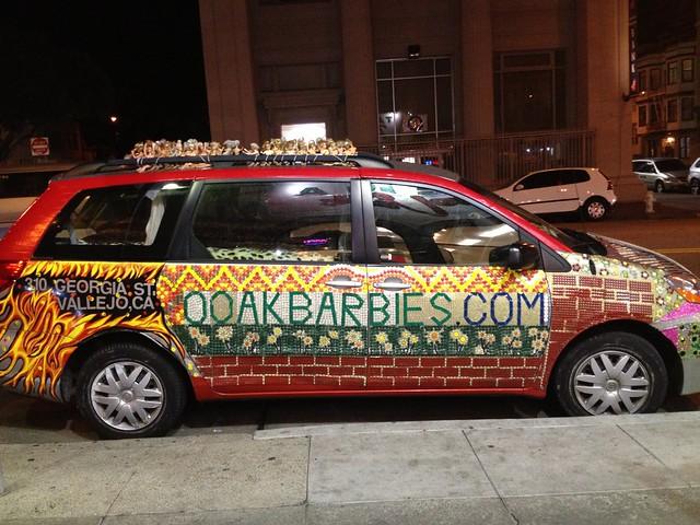 Barbie car, The Mission