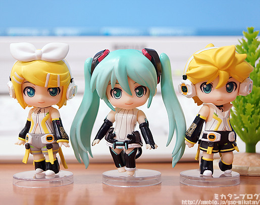 Nendoroid Petite: Miku, Rin, and Len Append set