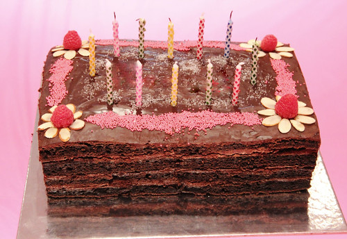 gluten-free layer cake