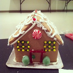 My gingerbread house...