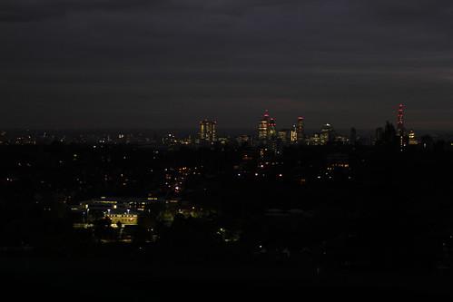 London at Dusk by Rob Thom