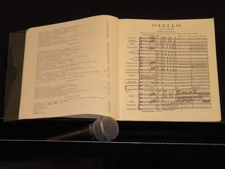 Partitura Otello, Fenice Venezia