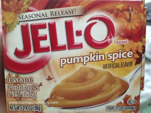 Jello Pumpkin Spice Pudding