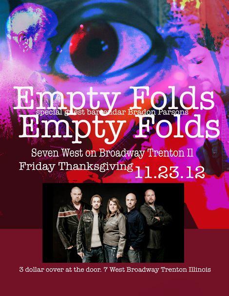 Empty Folds 11-23-12
