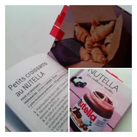 200. Mini croissants de Nutella