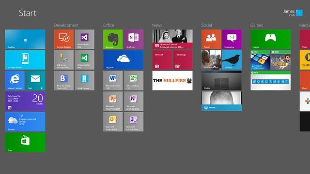 The Hullfire - Windows 8 Live Tiles