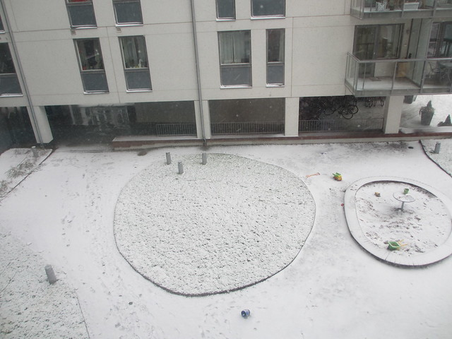Vilken skottig snö, mamma!