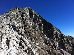 Aufstieg Almerhorn Gipfelaufbau
