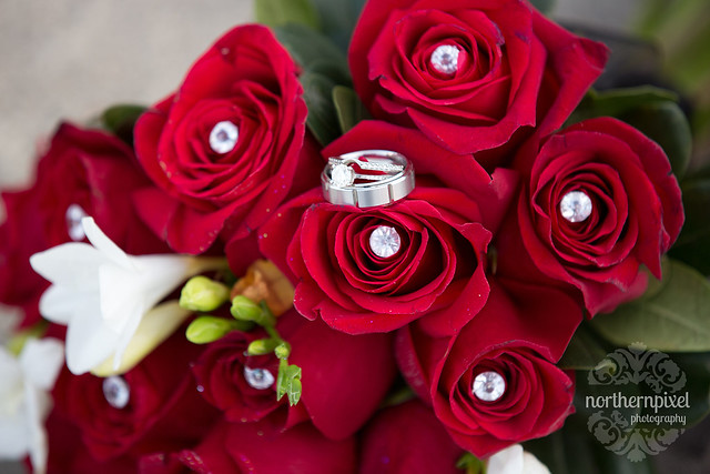 Bridal Bouquet - Red Roses