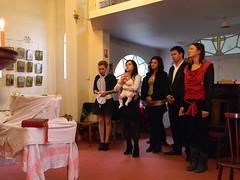Baptême d'Adrian Donca
