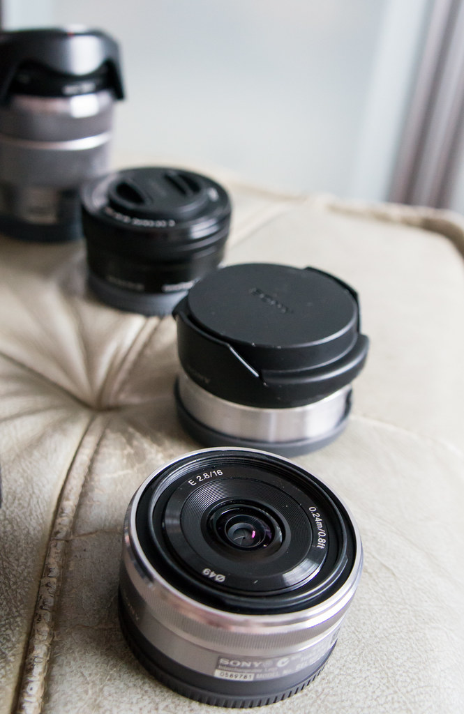 Sony NEX Lenses