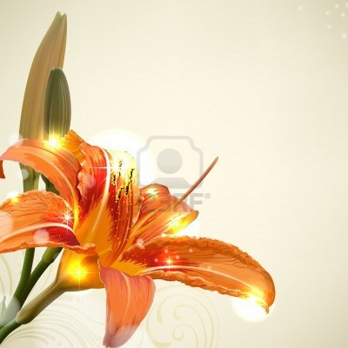 11204877-lily-flower-abstract-vector-background-wedding-card-template