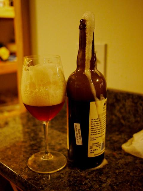 Jolly Pumpkin Baudelaire Beer iO Saison