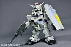 SDGO RX-78-2 (G3 Rare Color Variation) Unboxing & Review - SD Gundam Online Capsule Fighter (25)
