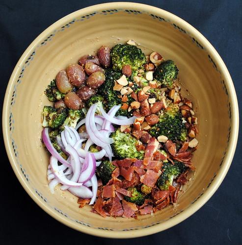 Roasted Broccoli & Grape Salad