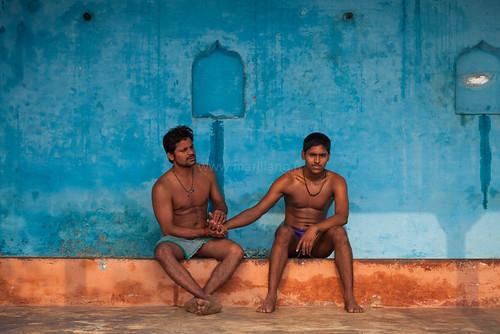 Pehlwani, Varanasi by Marji Lang