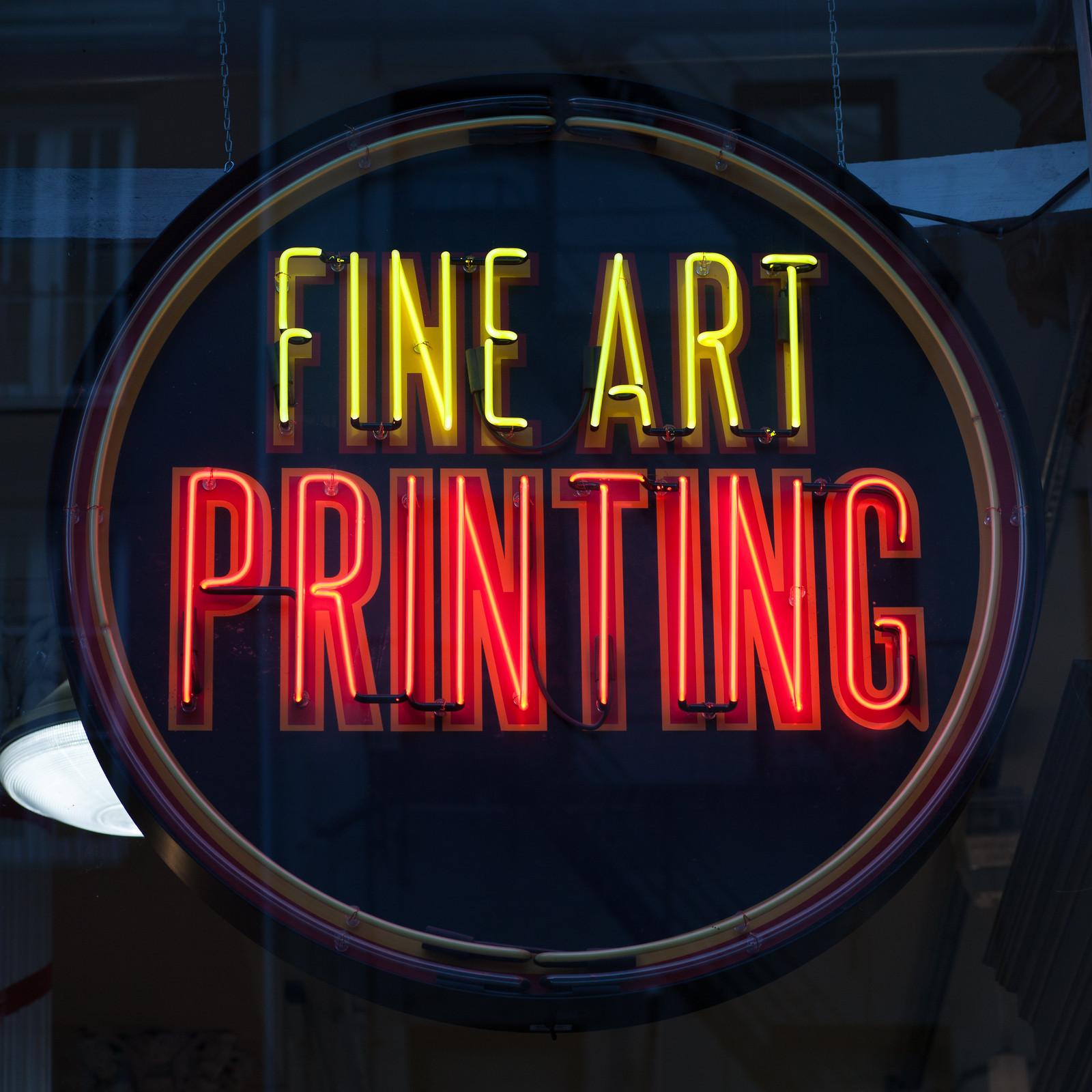 Fine Art PRINTING by wwward0
