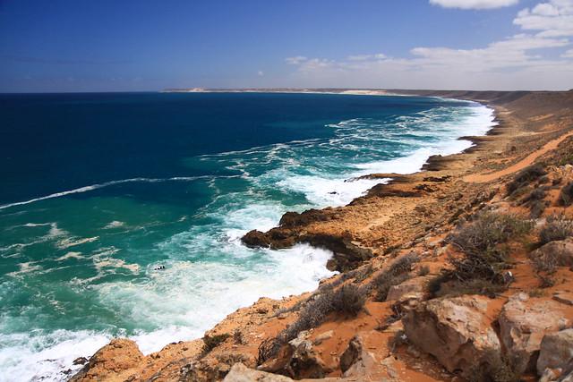 Quobba's rugged coast line