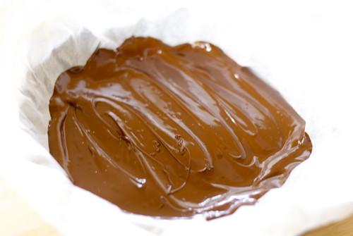 Smooth dark chocolate
