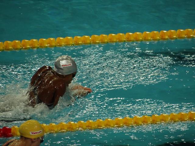 Alia Atkinson (JAM) breaststroke at Istanbul 2012